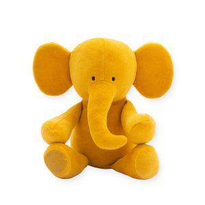 Knuffel Jollein Elephant Mustard
