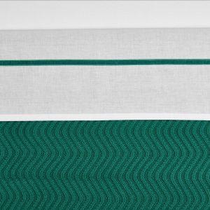 Laken Wieg Meyco 75x100 Bies Velvet Emerald Green