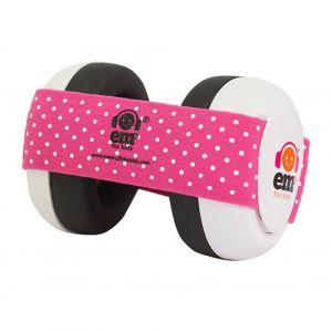 Gehoorbeschermer Baby Em's White/Pink
