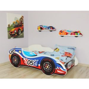 Kleuterbed Top Beds F1 160x80 05 Car Incl. Matras