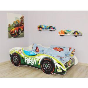 Kleuterbed Top Beds F1 160x80 Fresh Car Incl. Matras