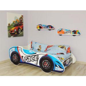 Kleuterbed Top Beds F1 160x80 Race Car Incl. Matras