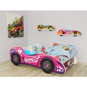 Kleuterbed Top Beds F1 160x80 Sweet Car Incl. Matras
