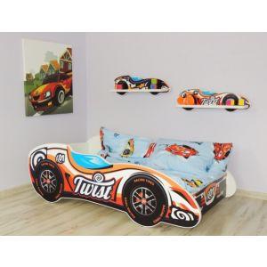 Kleuterbed Top Beds F1 160x80 Twist Car Incl. Matras