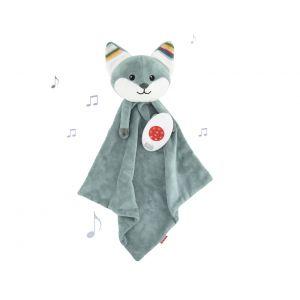 Knuffeldoekje ZAZU Baby Comforter Fox Felix Blue
