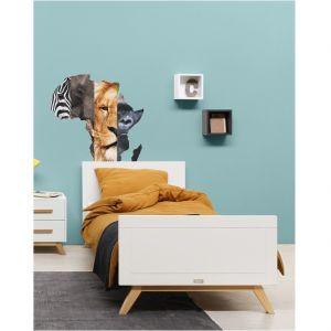 Bed Bopita Fenna 90x200 Wit/Naturel