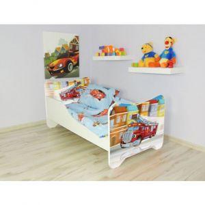 Peuterbed Top Beds Happy 70x140 Brandweer Incl. Matras