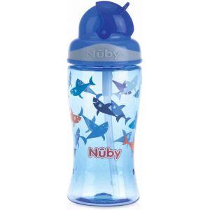 Antilekbeker Nuby Flip-It Tritan 360 ml Blue 3 jr.+