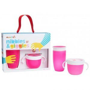 Drinkbeker & Snackschaal Munchkin Pink