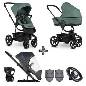 Kinderwagen Easywalker Harvey³ Forest Green + Accessoires