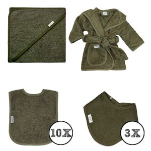 Textielset Funnies 15-delig Forest Green