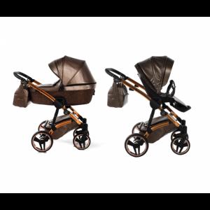 Kinderwagen Junama 3-in-1 Glitter Brown incl Autostoel
