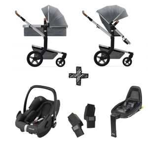 Kinderwagen Joolz Day+ Gorgeous Grey met Autostoel & Base