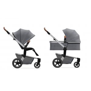 Kinderwagen Joolz Hub+ Gorgeous Grey + Gratis Wipstoel