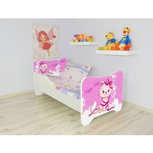Kleuterbed Top Beds Happy 160x80 Happy Kitty Incl. Matras + Bedlade