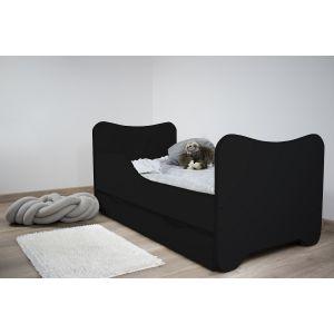 Kleuterbed Top Beds Happy 80x160 Zwart (Incl. Matras en Bedlade)