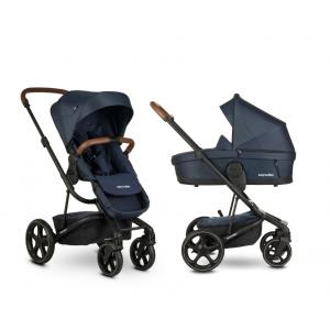 Easywalker Harvey³ Premium Sapphire Blue & Autostoel & Voetenzak & Hoogte-Adapter