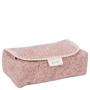 Koeka | Hoes Babydoekjes Vigo 1069/0012 Old Pink