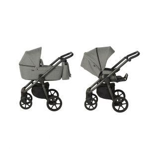 Kinderwagen Quax Country Titanium & Autostoel