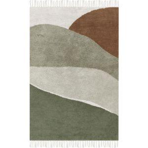 Vloerkleed Little Dutch Horizon Olive 90x130cm