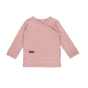 Shirt Little Dutch Overslag Melange Pink