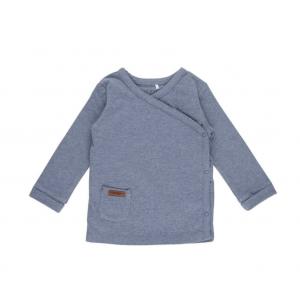 Shirt Little Dutch Overslag Melange Blue