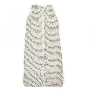 Slaapzak Hydrofiel With Love Wavy Stripes Green 70cm