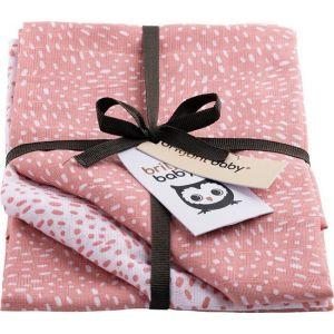 Luiers Hydrofiel Briljant Baby 3 stuks Minimal Dots Pink