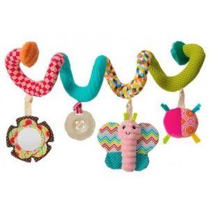 Infantino GoGaga Spiral Car Seat Activity Pink