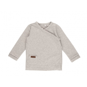 Shirt Little Dutch Overslag Melange Grey