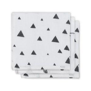 Monddoek Hydrofiel Jollein Indians Black/White 3x