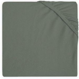 Hoeslaken Boxmatras Jollein 75x95 Jersey Ash Green 511-847-00095