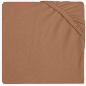Hoeslaken Ledikant Jollein Jersey 60x120 Caramel 511-507-00092