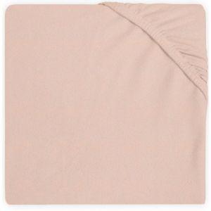 Hoeslaken Ledikant Jollein Jersey 60x120 Pale Pink 511-507-00090