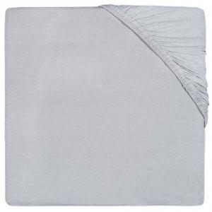 Hoeslaken Boxmatras Jollein 75x95 Jersey Soft Grey 511-847-00078