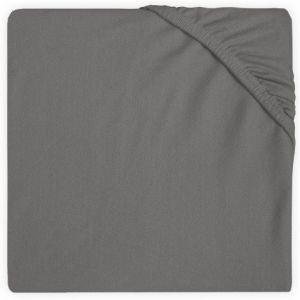 Hoeslaken Ledikant Jollein Jersey 60x120 Storm Grey 511-507-00094