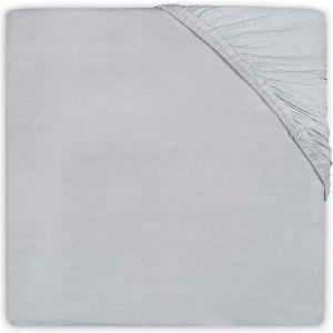 Hoeslaken Ledikant Jollein Katoen 60x120 Soft Grey 510-507-00078