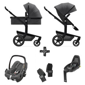 Kinderwagen Joolz Day+ Awesome Anthracite incl. Autostoel & Base & Adapters