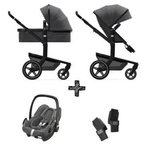 Kinderwagen Joolz Day+ Awesome Anthracite incl. Autostoel & Adapters