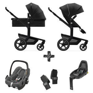 Kinderwagen Joolz Day+ Brilliant Black incl. Autostoel & Base & Adapters