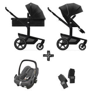 Kinderwagen Joolz Day+ Brilliant Black incl. Autostoel & Adapters