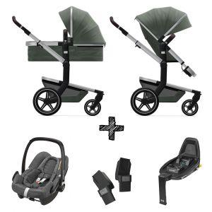 Kinderwagen Joolz Day+ Marvellous Green incl. Autostoel & Base & Adapters