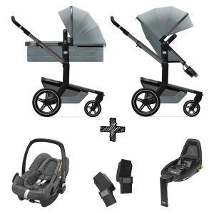 Kinderwagen Joolz Day+ Modern Blue incl. Autostoel & Base & Adapters
