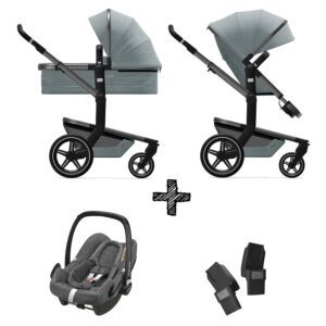 Kinderwagen Joolz Day+ Modern Blue incl. Autostoel & Adapters