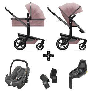 Kinderwagen Joolz Day+ Premium Pink incl. Autostoel & Base & Adapters