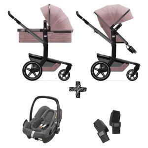 Kinderwagen Joolz Day+ Premium Pink incl. Autostoel & Adapters