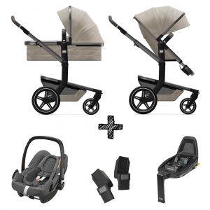Kinderwagen Joolz Day+ Timeless Taupe incl. Autostoel & Base & Adapters