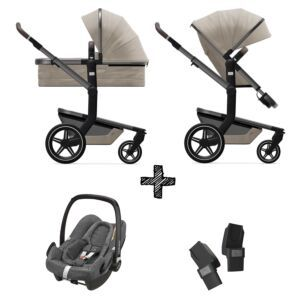 Kinderwagen Joolz Day+ Timeless Taupe incl. Autostoel & Adapters
