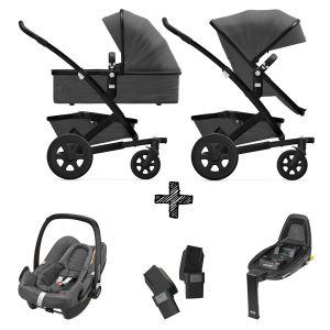 Joolz Geo2 Awesome Anthracite incl. Autostoel & Base & Adapters