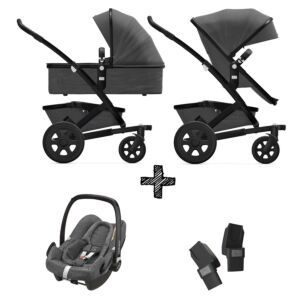 Joolz Geo2 Awesome Anthracite incl. Autostoel & Adapters
